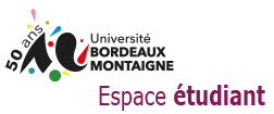 Accueil Espace étudiant Université Bordeaux Montaigne