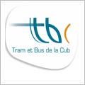 Tram et bus de la CUB